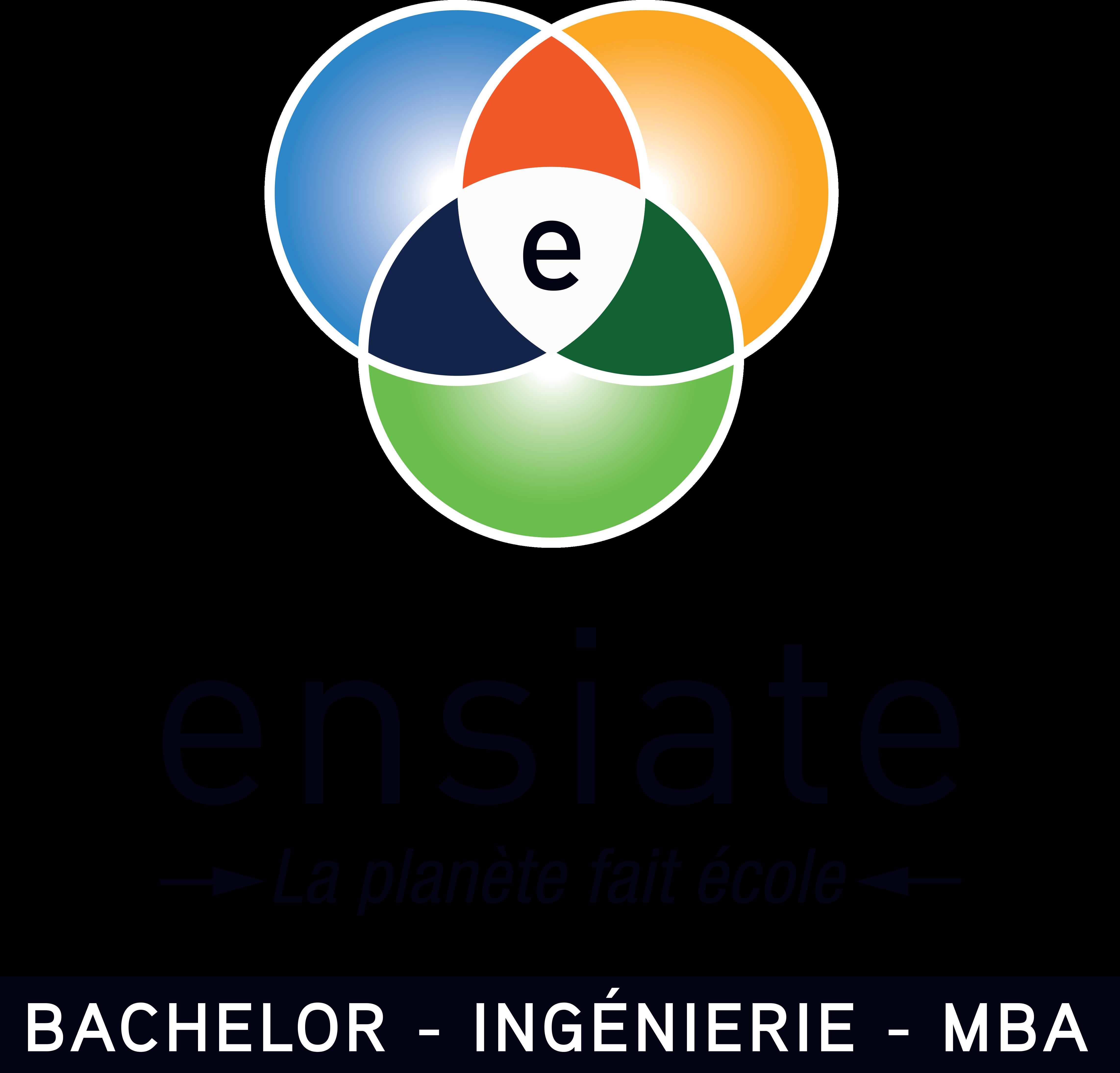 Logo Ensiate vertical